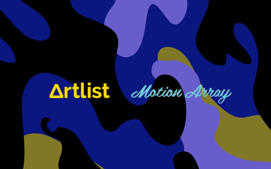 ArtlistがMotion Arrayを6500万ドルで買収。動画素材の拡充でワンステップショップを目指す。
